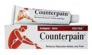 Counterpain warm